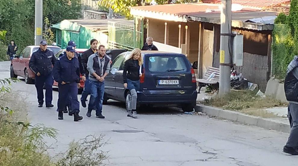 Жестоко убийство в Русе (СНИМКИ/ВИДЕО)