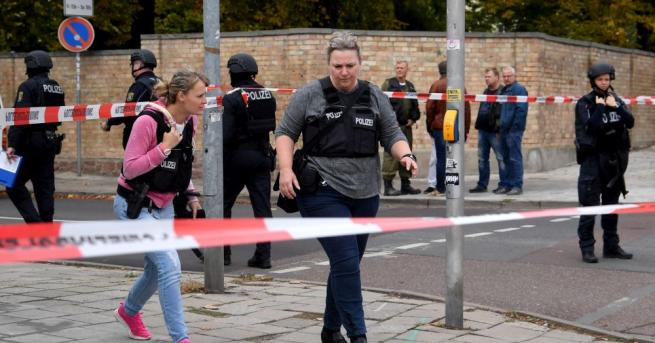 Германската полиция съобщи за стрелба в град Ландсберг, след като