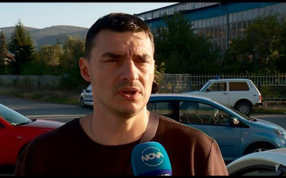Президентът и треньор на мъжкия волейболен Левски – Владимир Николов