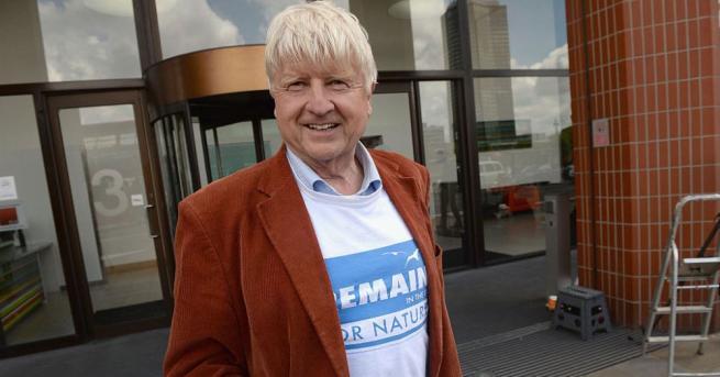 Бащата на британския премиер Борис Джонсън се присъедини към протестите