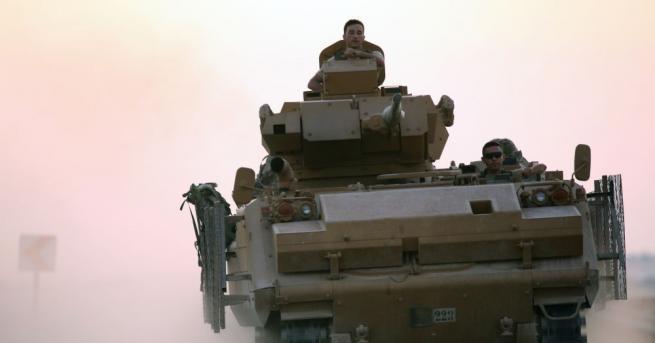 Челните отряди на сирийската армия влязоха в град Ракка за