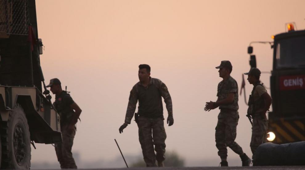 Турски военни ще работят в наблюдателния център в...