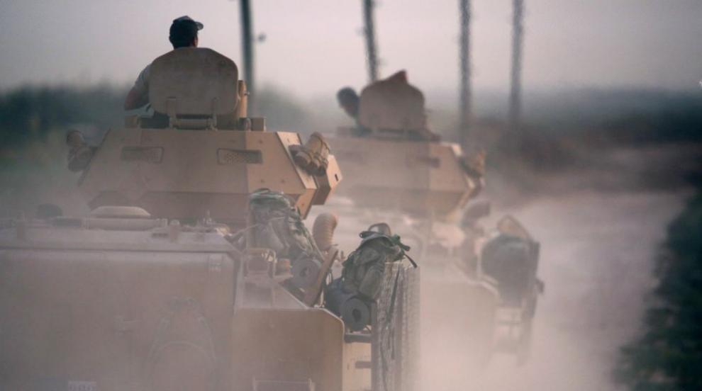 Турция създаде военна зона на 5 км от границата с...