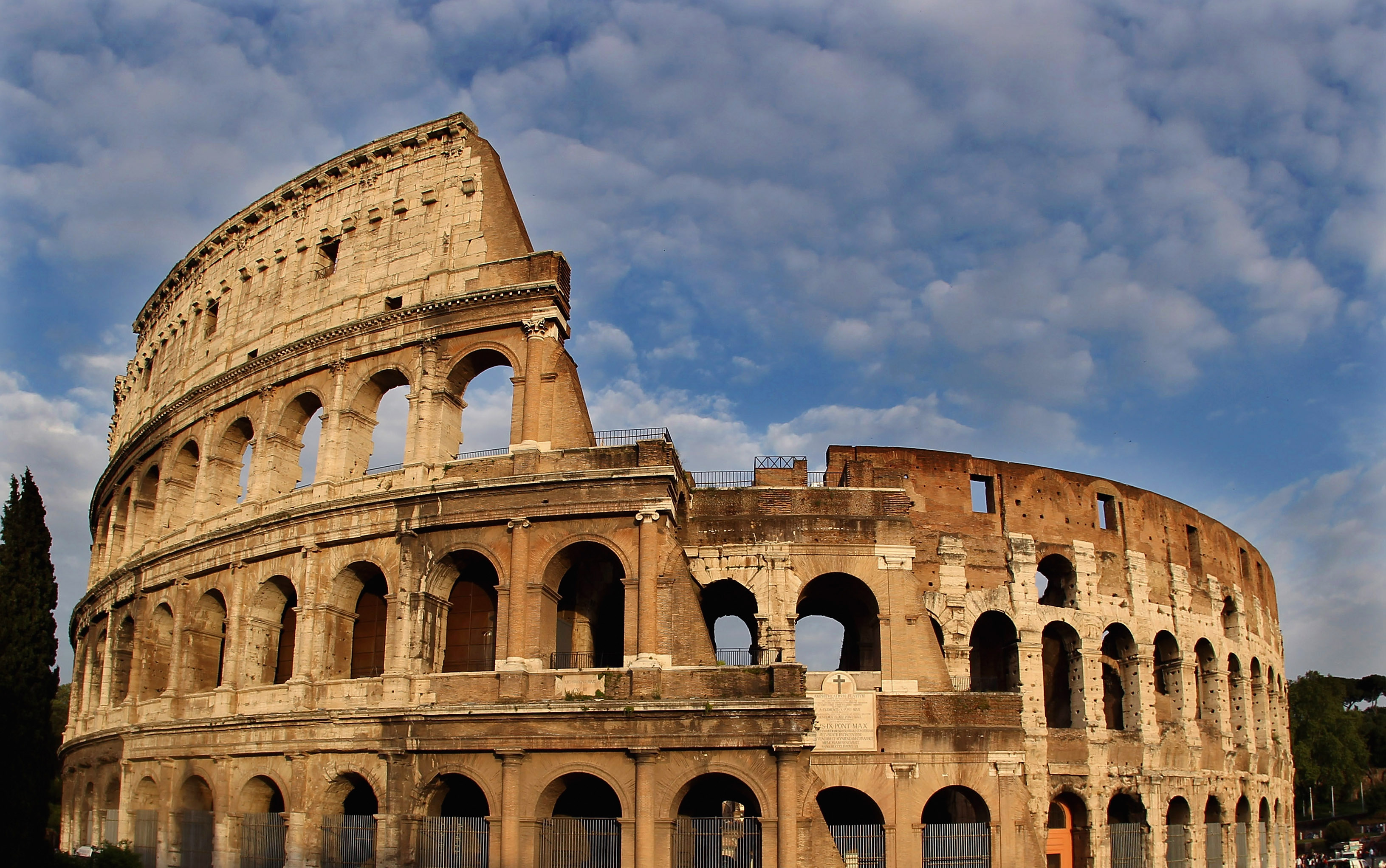 <p>Колизеумът</p>