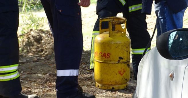 Експлозия на газ стана днес в 13-етажен блок в град