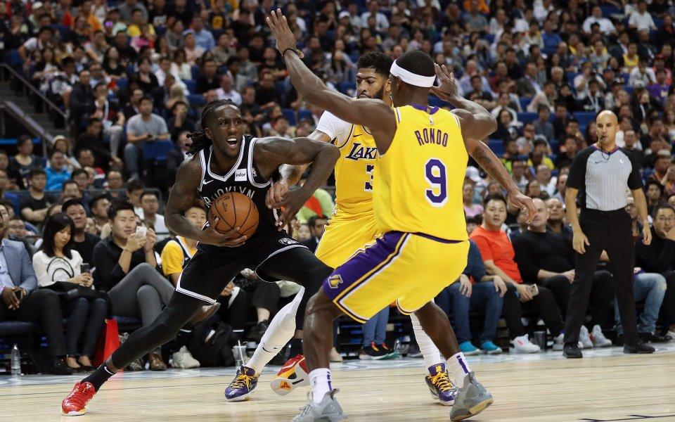 Бруклин Нетс победи Лос Анджелис Лейкърс с 114:111 точки, в