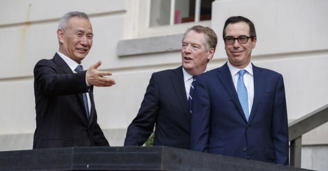 САЩ и Китай завършиха първия ден от търговските преговори помежду