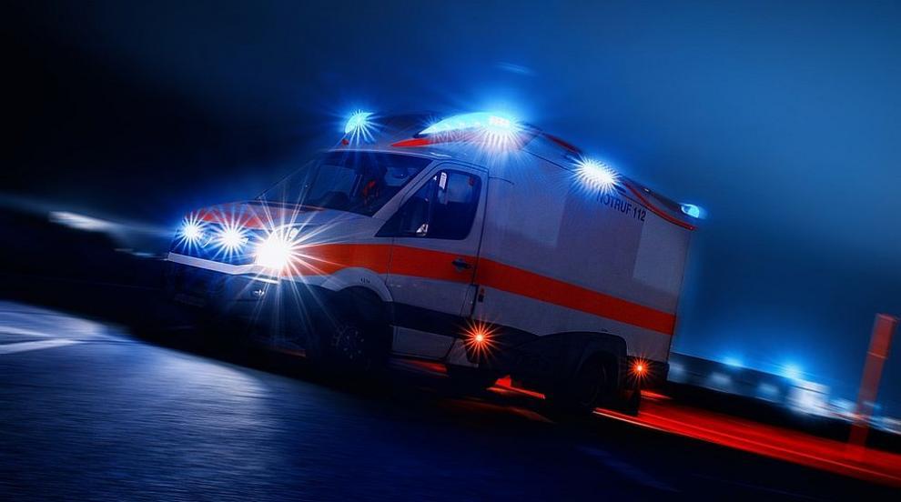 Тежка катастрофа между два тира на пътя Дебелец - Килифарево