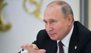 <p>Путин: Терористите от ИД ще тръгнат към Балканите</p>