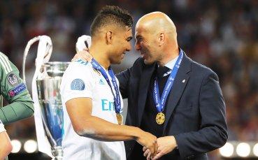 Каземиро е играл във всички срещи на Реал през този сезон (СТАТИСТИКА)
