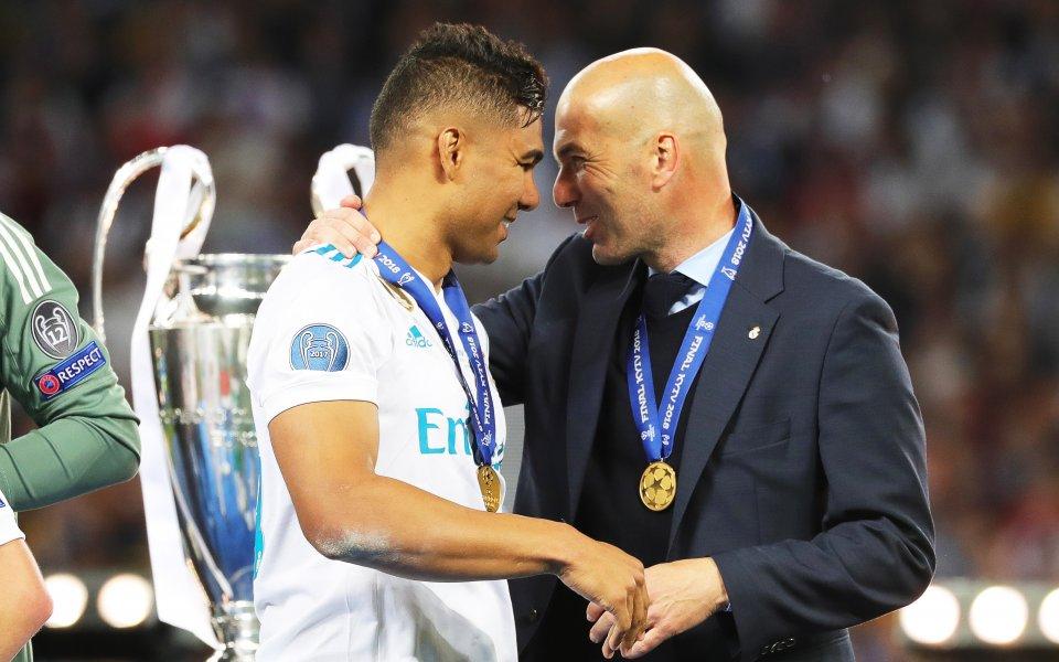 Началото на кариерата на Каземиро в Реал Мадрид при Зинедин
