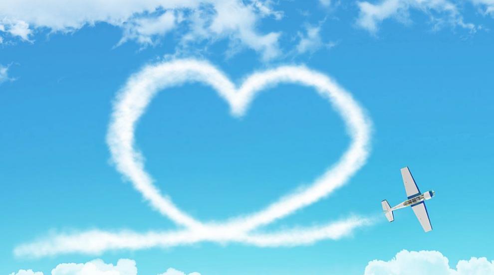 Германка поддържа 5-годишна любовна връзка с пътнически самолет (СНИМКА)