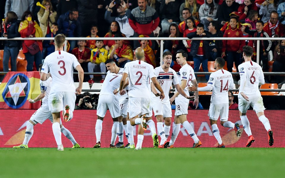 Отборът на Испания пропусна да се класира за Евро 2020,