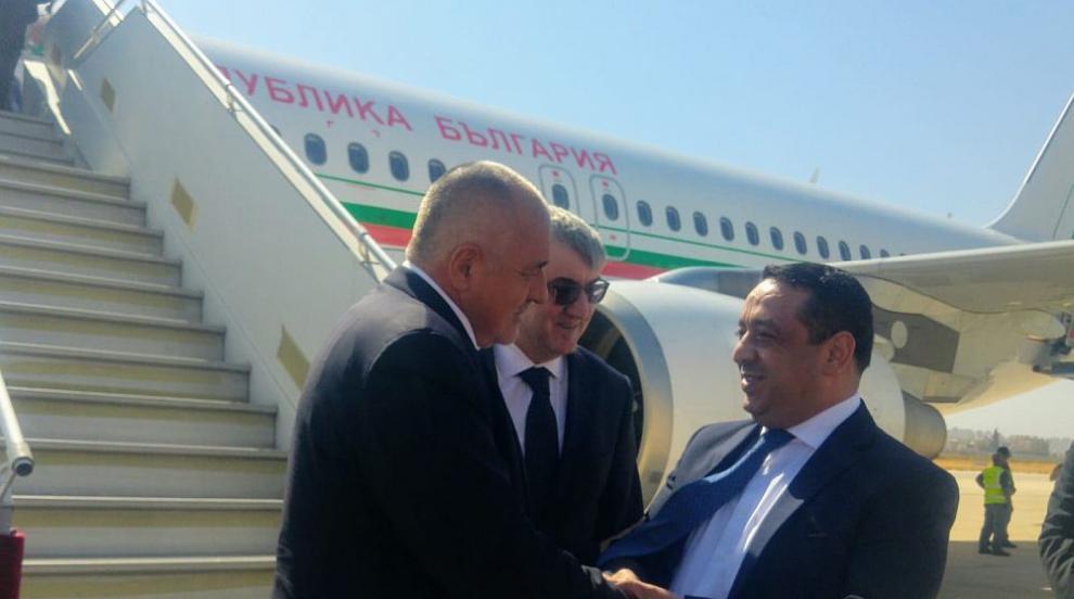 Борисов пристигна на официална визита в Йордания