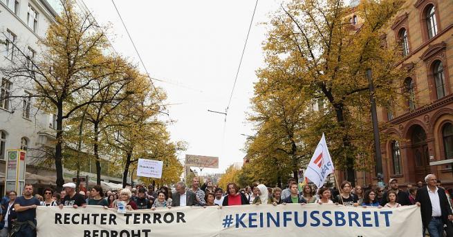 Няколко хиляди демонстранти се събраха в центъра на германската столица,