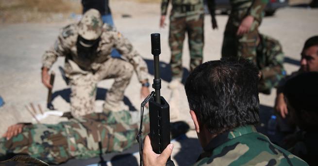 Командирът на Сирийските демократични сили (СДС), ръководени от кюрдските части,