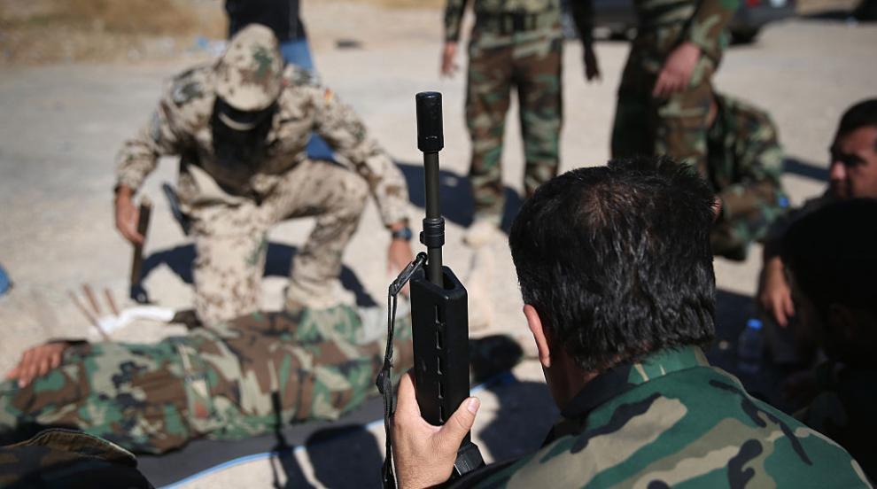 """Кюрдски генерал към САЩ: """"Оставяте ни, за да бъдем изклани"""""""