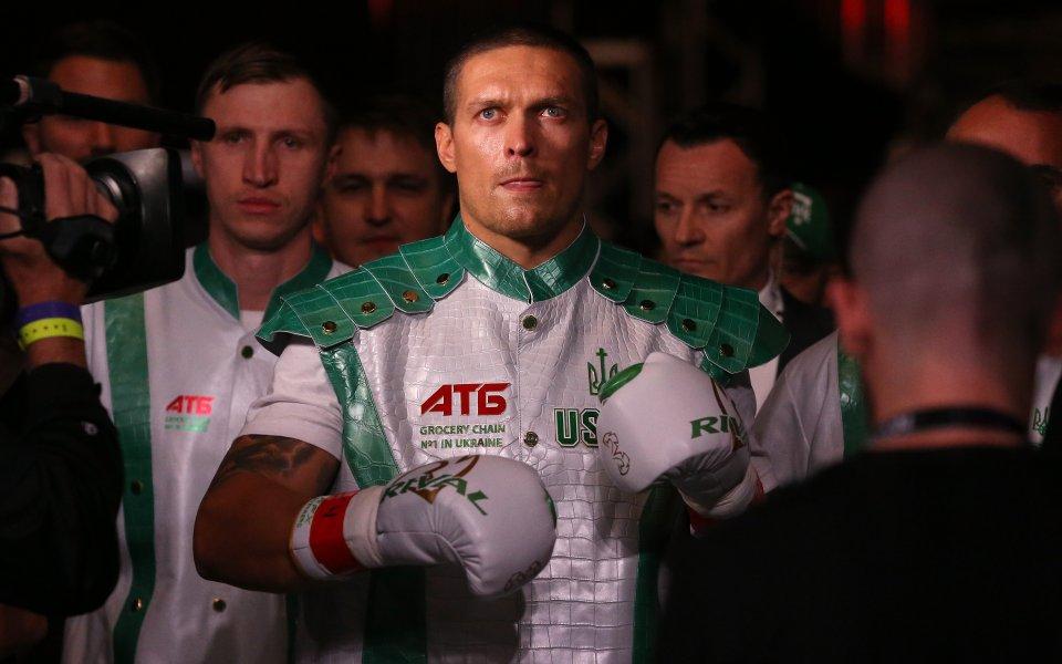 Бившият абсолютен шампион в полутежката категория на професионалния бокс Александър