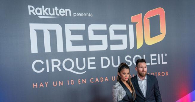 """Канадският """"Сирк дю Солей"""" представи в Барселона спектакъла """"Меси 10"""","""