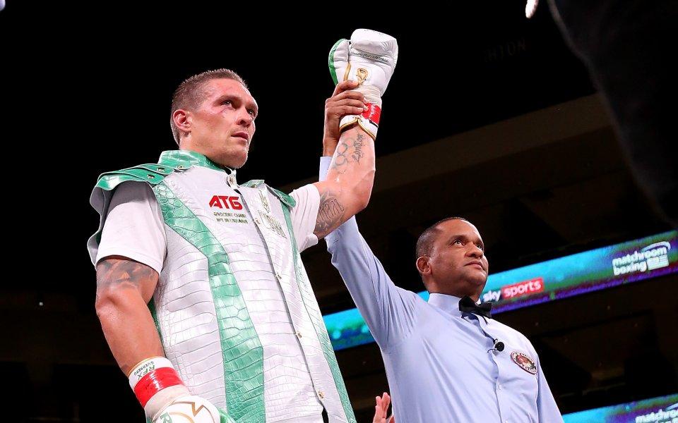Украинският боксьор Олександър Усик потвърди своите намерения по отношение на
