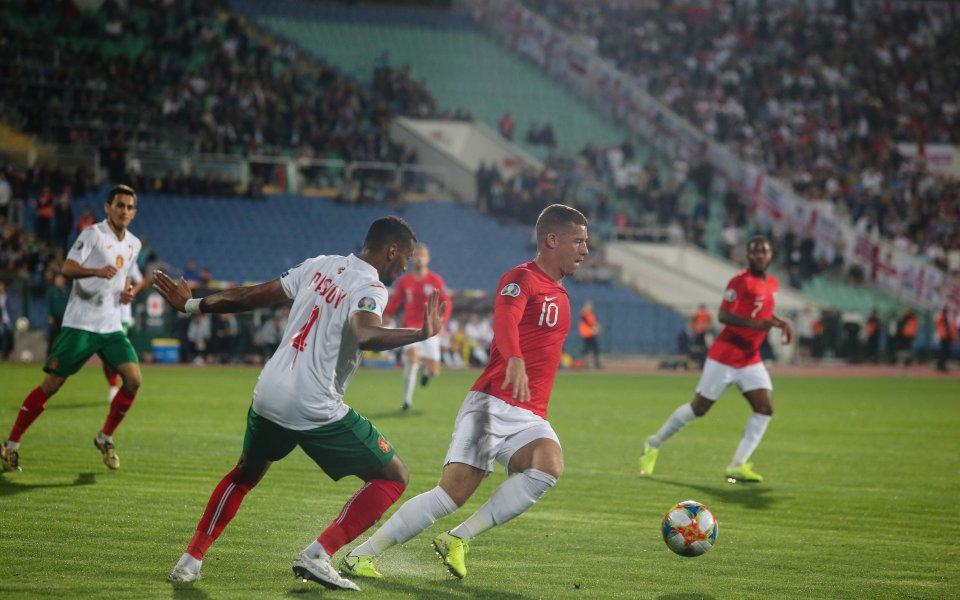 Един от тъмнокожите български национали в мача срещу Англия Георги