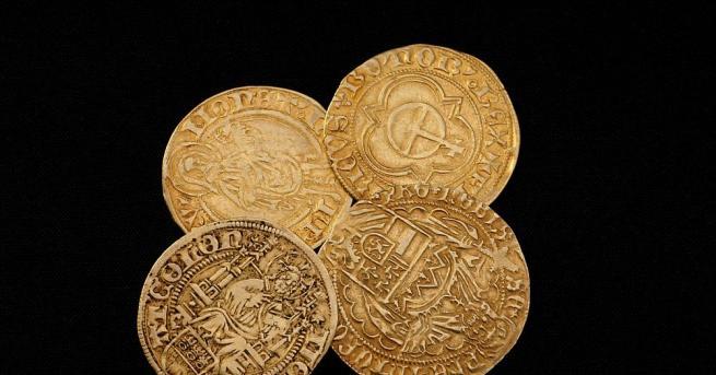 Една от най-редките монети в света - златен динар, датиран