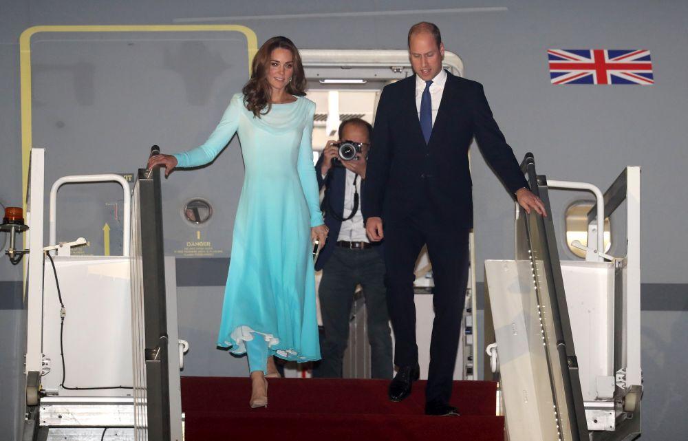 Кейт и Уилям на посещение в Пакистан