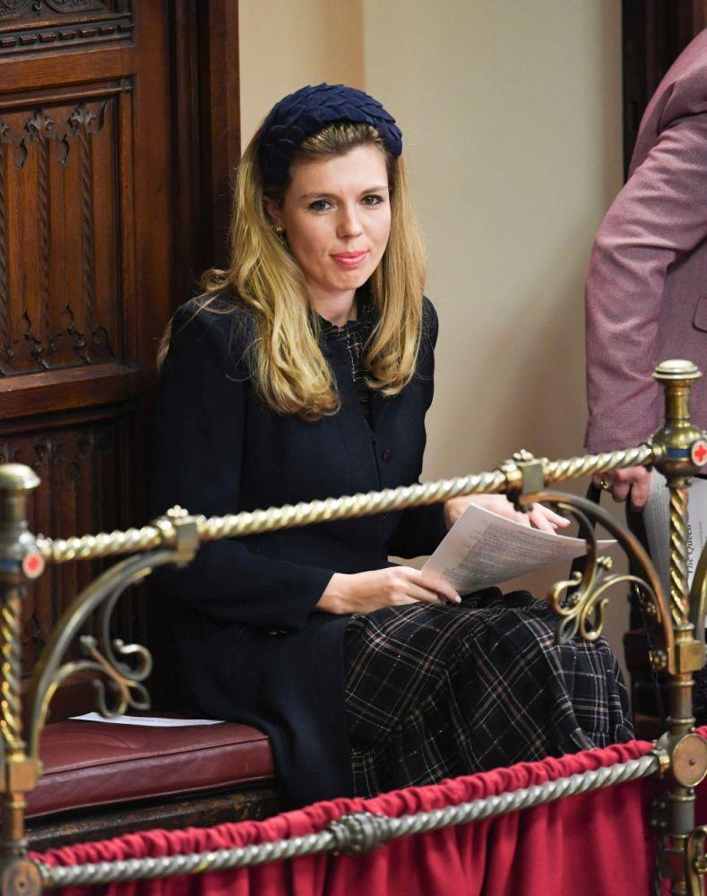 Кари Саймъндс - младата приятелка на британския премиер Борис Джонсън
