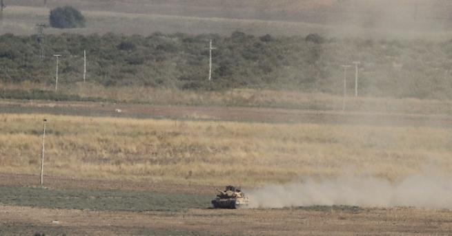 Сирийски правителствени сили и руски военни са влезли днес в