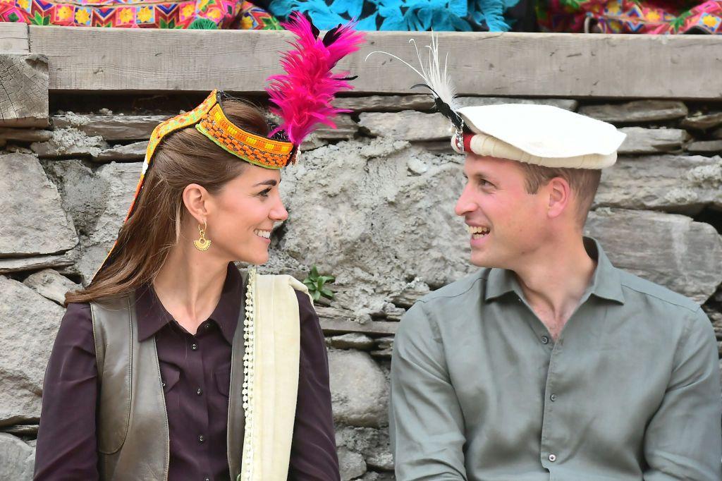 Уилям и Кейт в Читрал