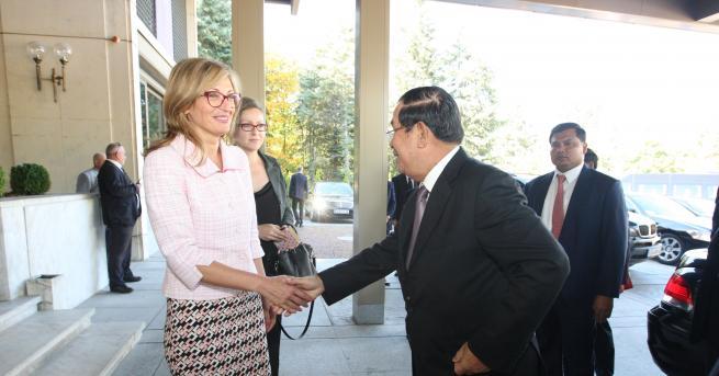 Вицепремиерът и министър на външните работи Екатерина Захариева обсъди с