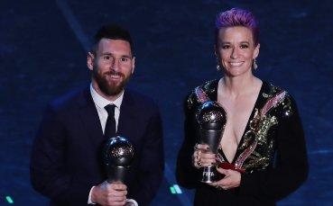 Футболистка сред най-влиятелните жени в света за 2019 г.
