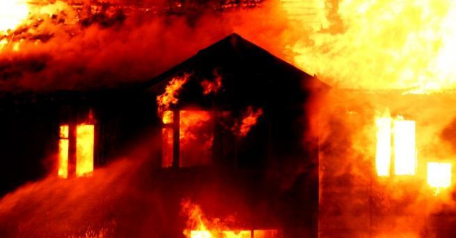 Снимка: Голям пожар в столицата на Чили