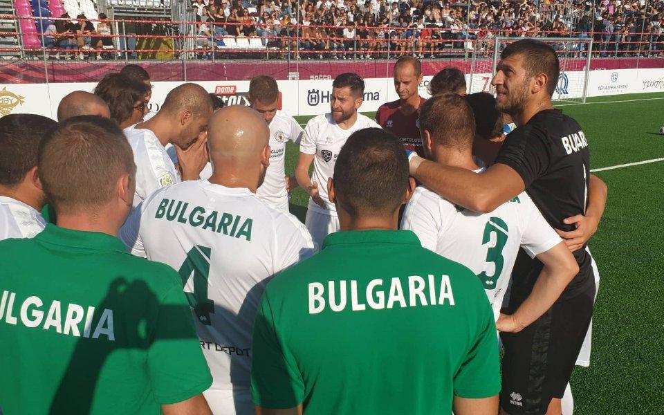 България прегази Кипър и е на 1/8-финал на световното по минифутбол