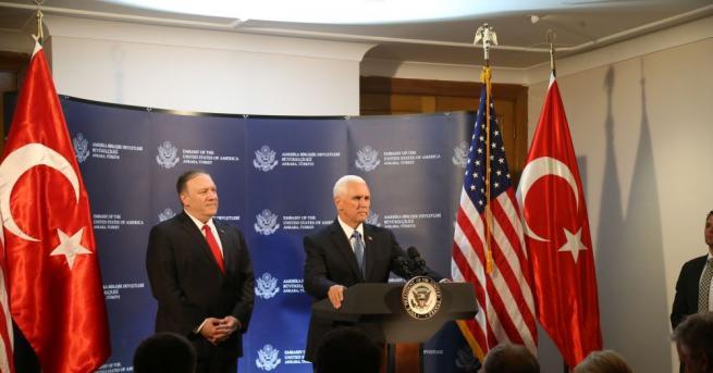Снимка: Турция и САЩ се договориха, прекратяват огъня в Сирия
