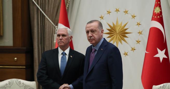 Снимка: Турция и САЩ договориха прекратяване на огъня в Сирия