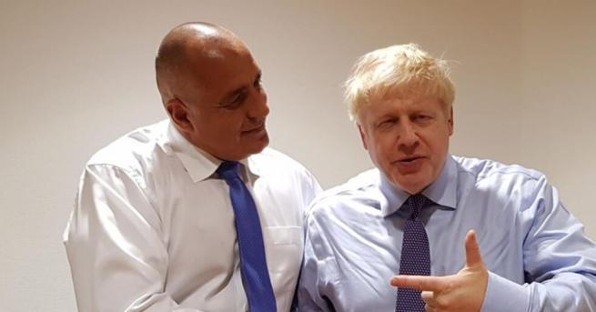 България Борисов: Борис Джонсън има най-добри чувства към нашата страна