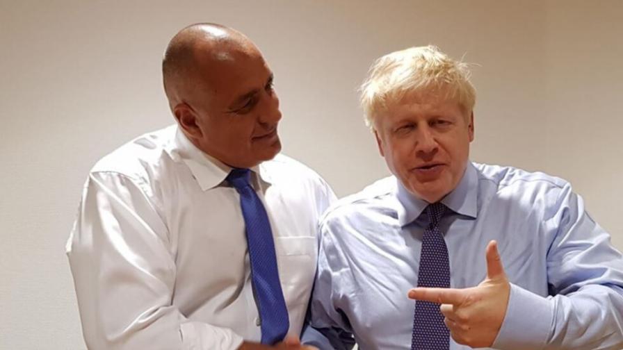 Борисов: Борис Джонсън има най-добри чувства към нашата страна