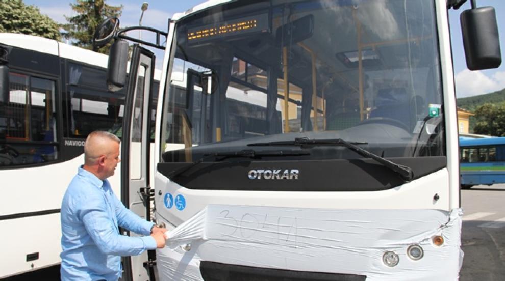 Абонаментни карти за ползване на новата автобусна линия 5 пуснаха в...