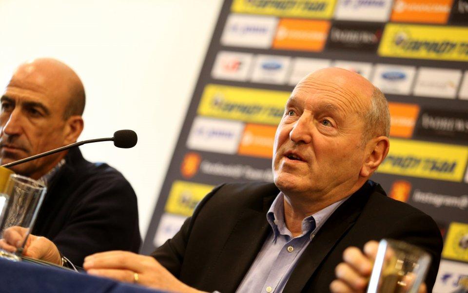 Единият от вицепрезидентите в Българския футболен съюз – Михаил Касабов