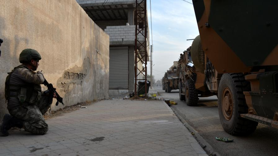 Кюрдите: Турция наруши примирието в Сирия