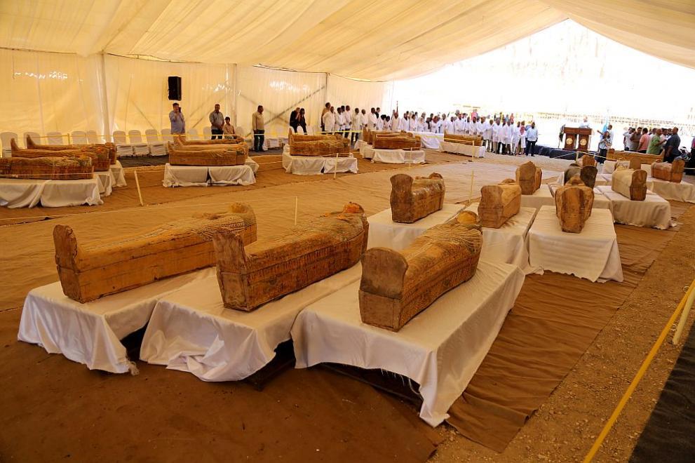 Египет саркофаг мумии