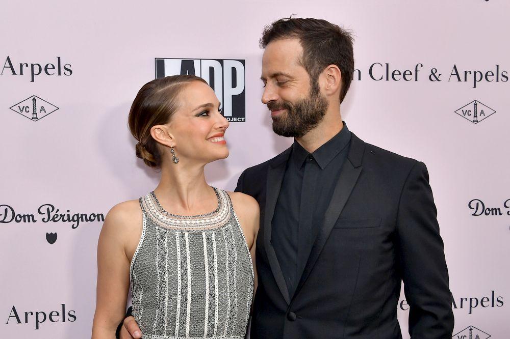 Актрисата Натали Портман грее на благотворителното събитие за набиране на средства за L.A. Dance Project, чийто хореограф е съпругът й Бенджамин Милпие
