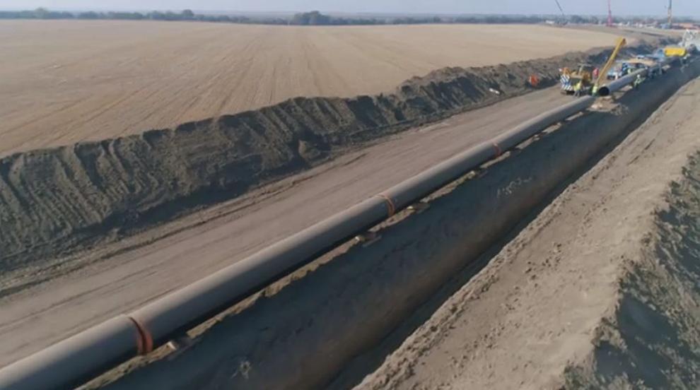 """Борисов пусна първи кадри от строителството на """"Балкански поток"""" (ВИДЕО)"""