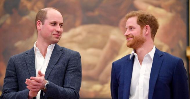 Британският принц Хари призна, че с брат си Уилям вървят