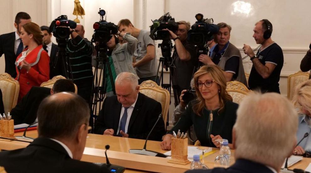 Екатерина Захариева се срещна с българската общност в Москва