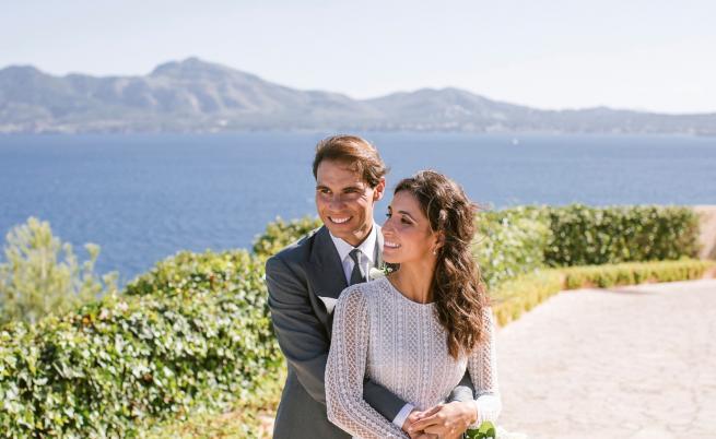 Първи снимки от сватбата на Рафаел Надал