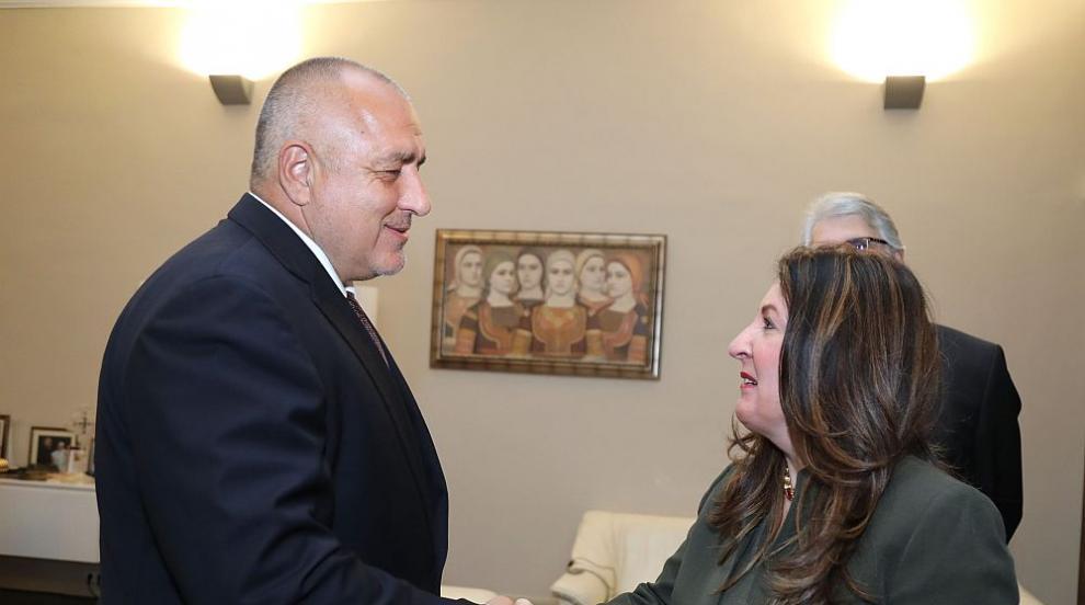 Борисов се срещна с новия посланик на САЩ в България Херо Мустафа (СНИМКИ)