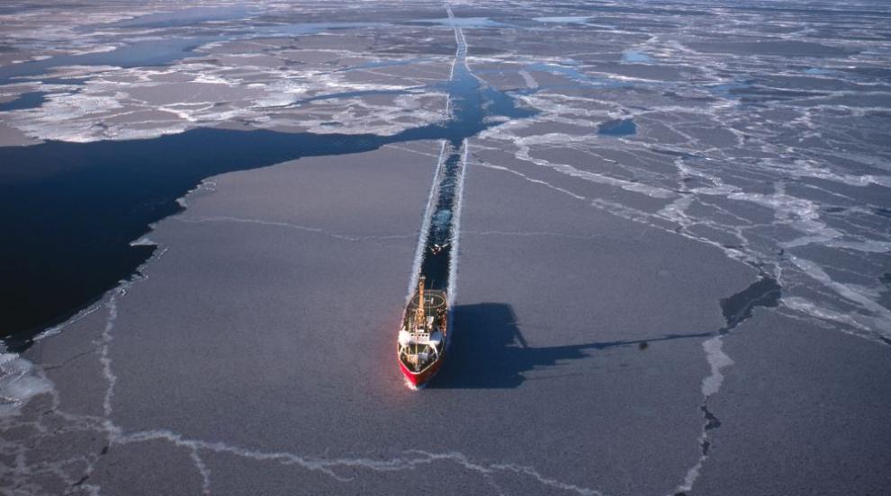 Руски ледоразбивач изпрати сигнал за бедствие край бреговете на Норвегия