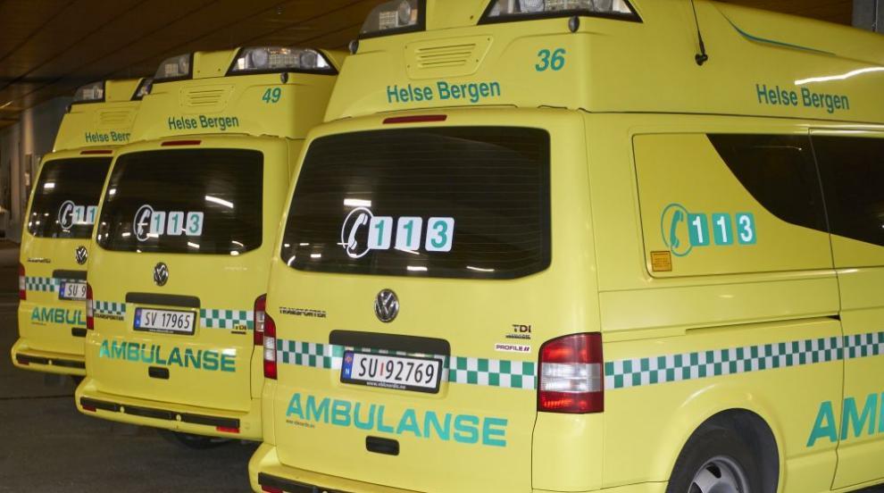 Въоръжен мъж открадна линейка в Норвегия и прегази няколко души (ВИДЕО)